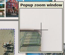 Fine adjust your cropping area after you copy old photos to digital format
